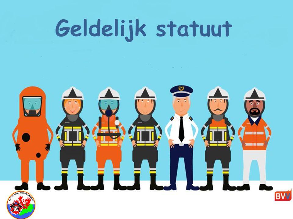 """Brandweerhervorming BVV """" Geldelijk statuut"""