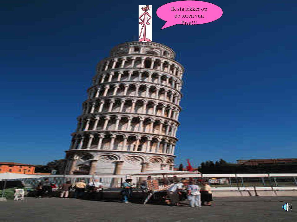 Ik ben in ITALIE