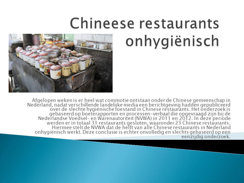 Afgelopen weken is er heel wat commotie ontstaan onder de Chinese gemeenschap in Nederland, nadat verschillende landelijke media een berichtgeving had