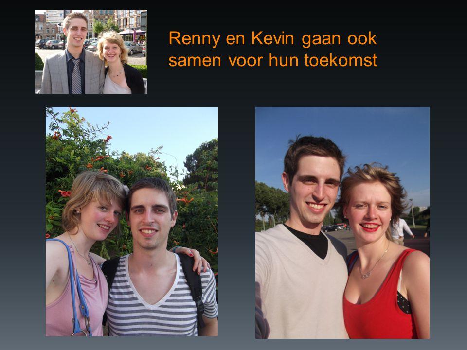 Renny en Kevin gaan ook samen voor hun toekomst