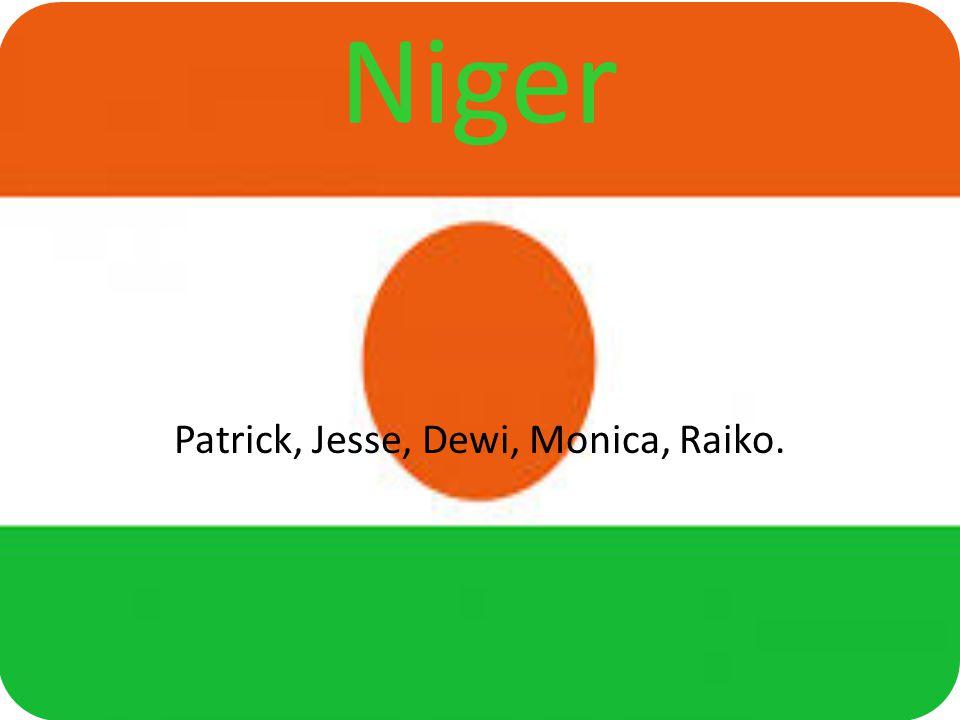 Niger Patrick, Jesse, Dewi, Monica, Raiko.