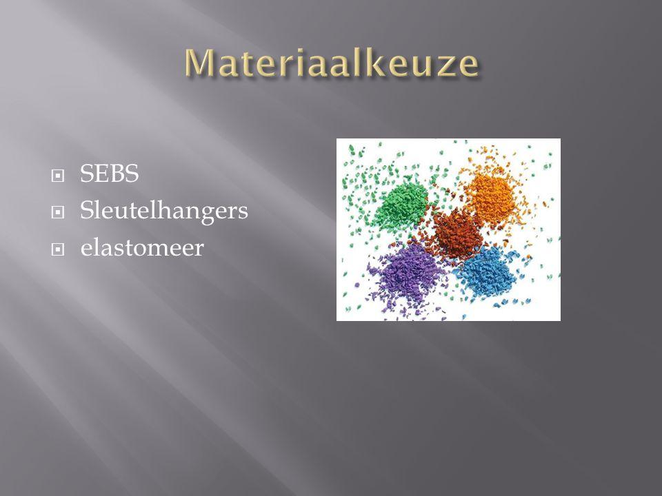  SEBS  Sleutelhangers  elastomeer