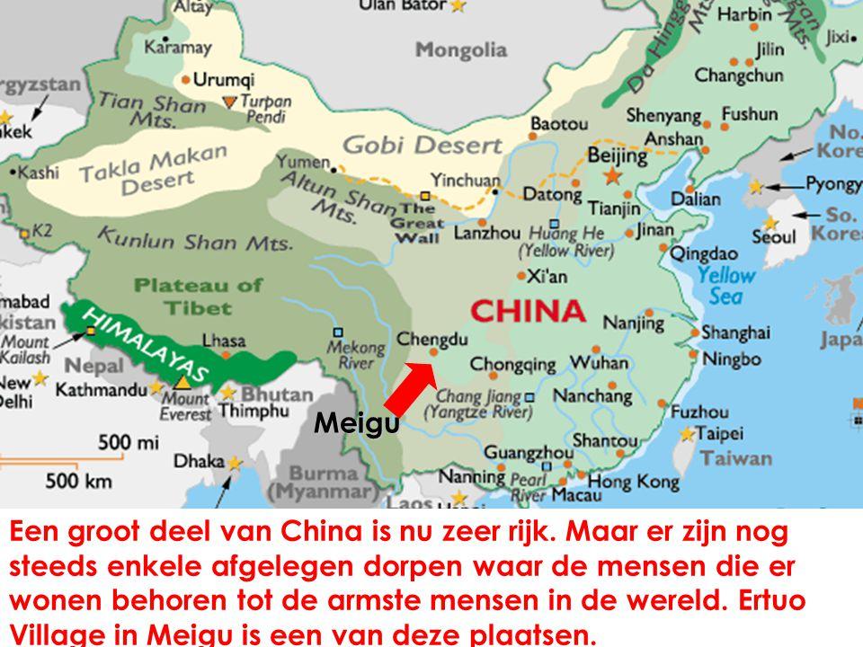Een groot deel van China is nu zeer rijk.