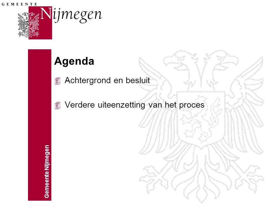 Gemeente Nijmegen Iedereen er bij houden Stip op de horizon