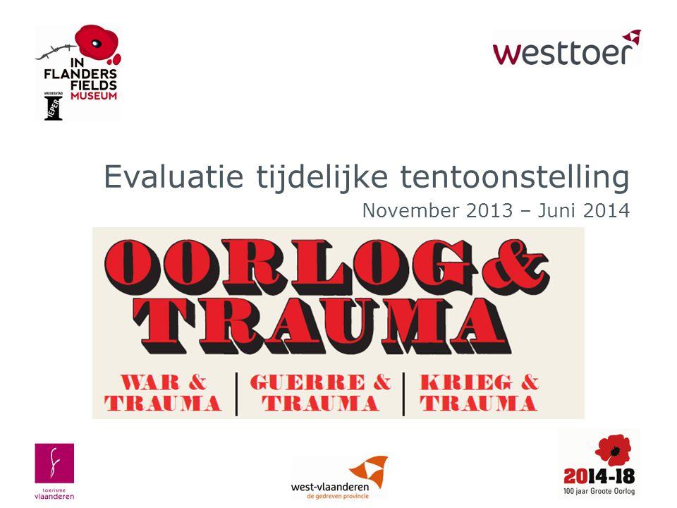 Evaluatie tijdelijke tentoonstelling November 2013 – Juni 2014