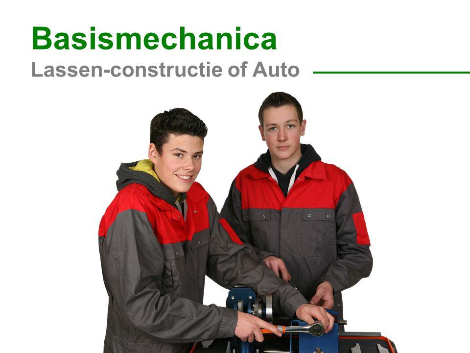 Basismechanica Lassen-constructie of Auto