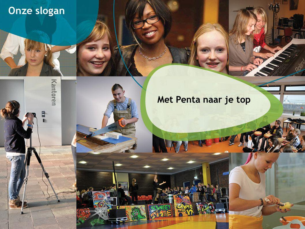 Onze slogan Met Penta naar je top