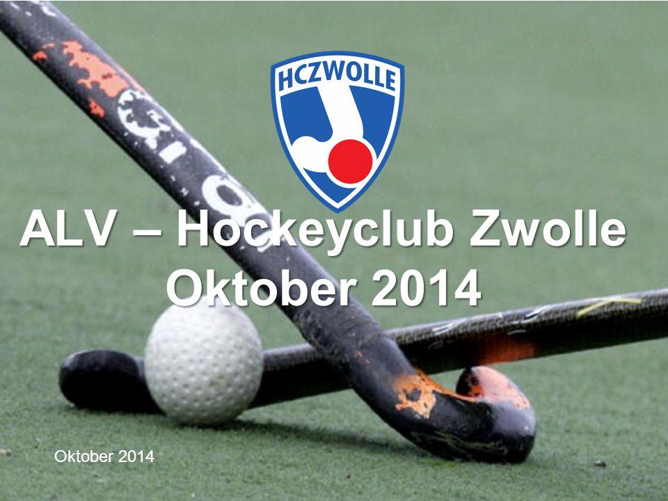 Oktober 2014 ALV – Hockeyclub Zwolle Oktober 2014