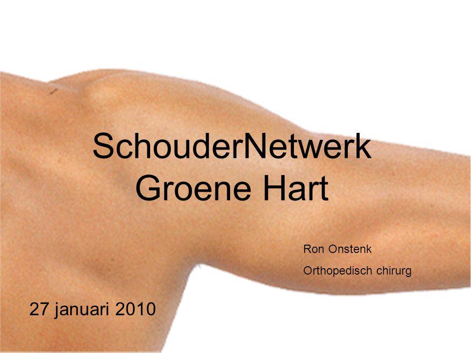 Reden voor SchouderNetwerk Groene Hart.