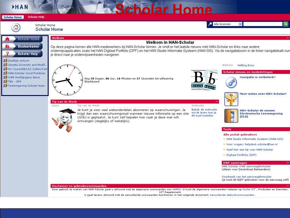Scholar Home
