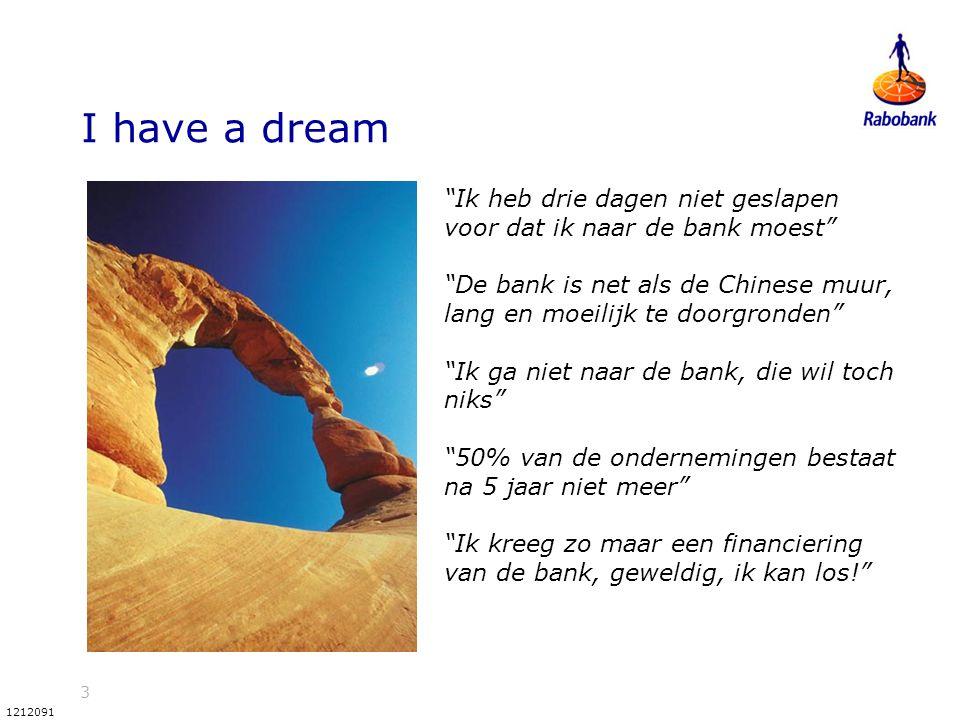 """3 1212091 I have a dream """"Ik heb drie dagen niet geslapen voor dat ik naar de bank moest"""" """"De bank is net als de Chinese muur, lang en moeilijk te doo"""