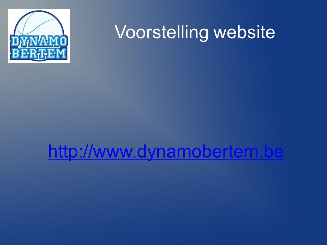 Voorstelling website http://www.dynamobertem.be