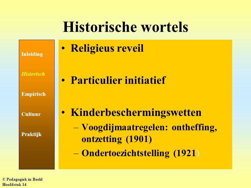 Aantal kinderen onder OTS Inleiding Historisch Empirisch Cultuur Praktijk http://www.minjust.nl/b_organ/dpjs/producten/feitencijfers/2000_13_2_ontwikkeling.htm © Pedagogiek in Beeld Hoofdstuk 14
