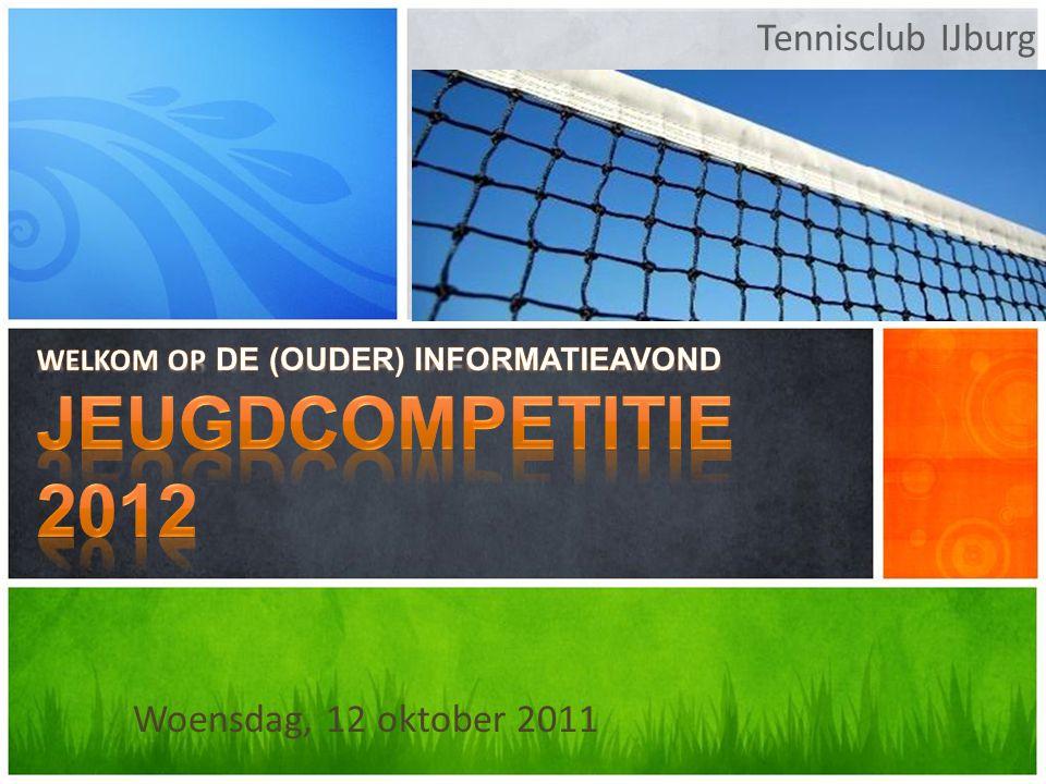 Tennisclub IJburg Woensdag, 12 oktober 2011