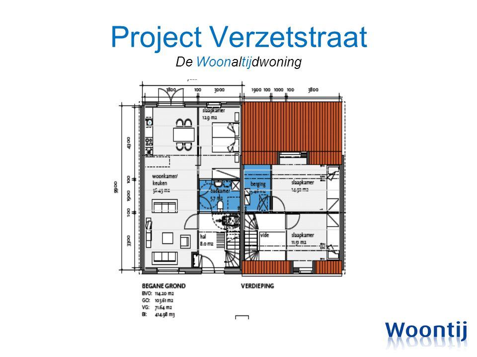 Project Verzetstraat De Woonaltijdwoning
