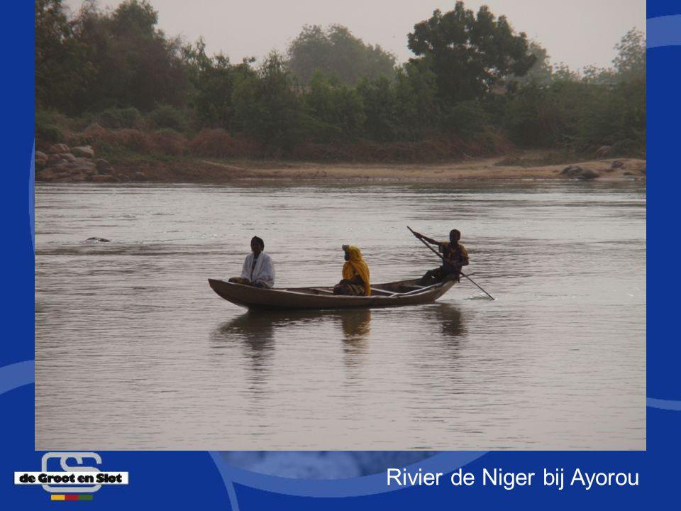 Rivier de Niger bij Ayorou