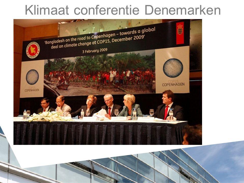 Klimaat conferentie Denemarken