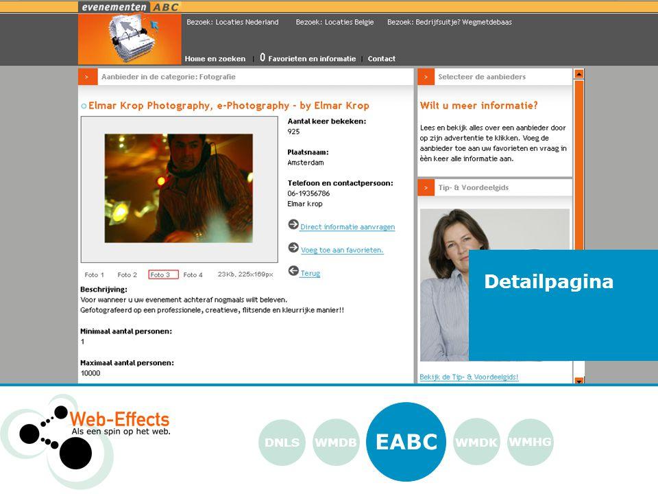 EABC WMDK WMHG DNLS Detailpagina WMDB