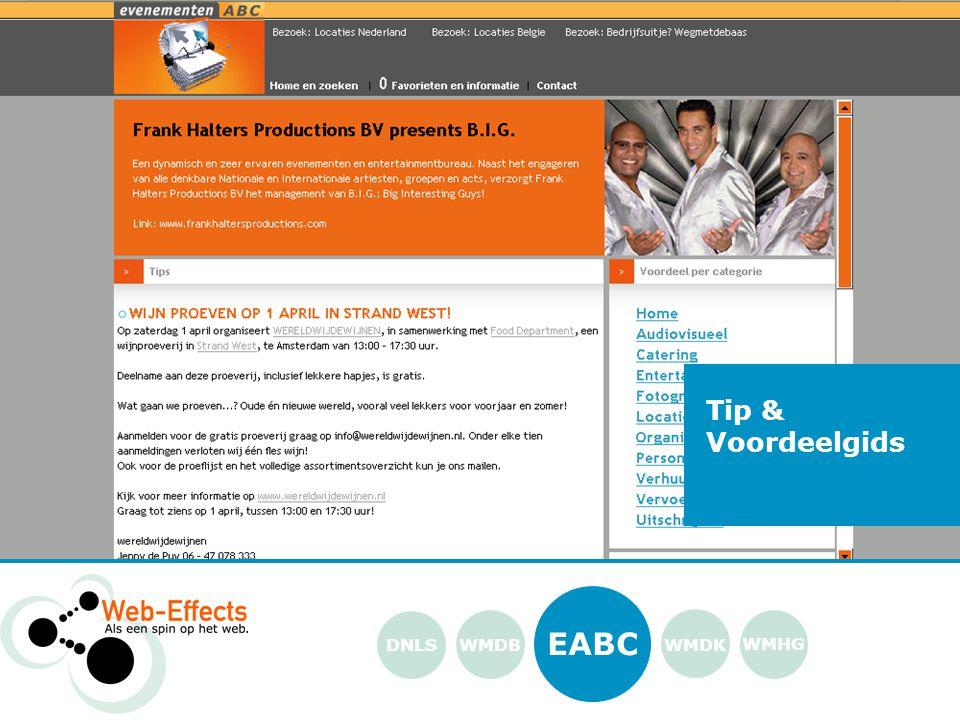 EABC WMDK WMHG DNLS Tip & Voordeelgids WMDB