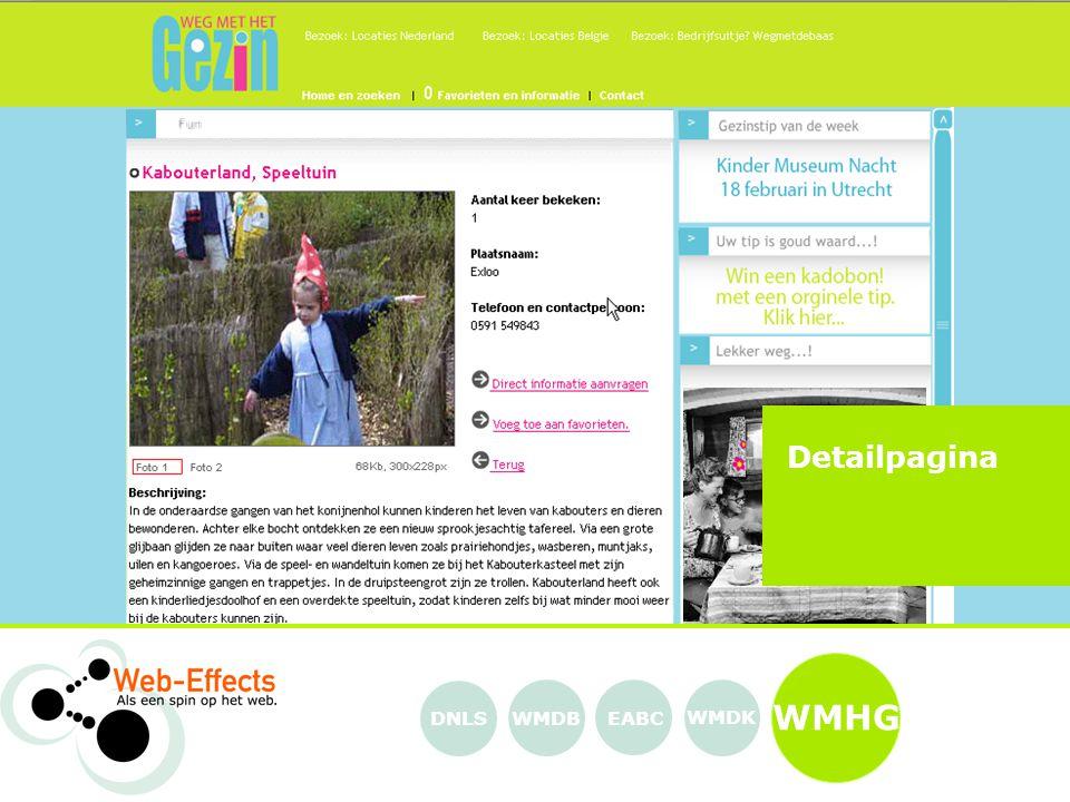 WMHG EABC WMDK WMDBDNLS Detailpagina
