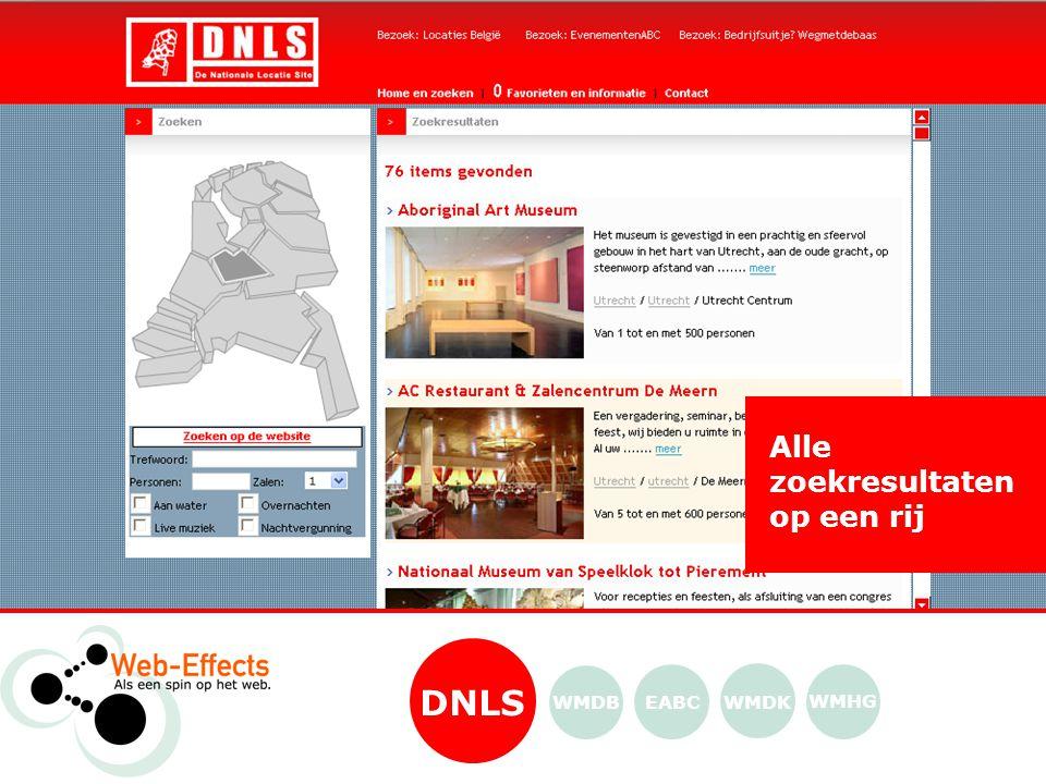 Detailpagina DNLS WMDK WMHG EABCWMDB