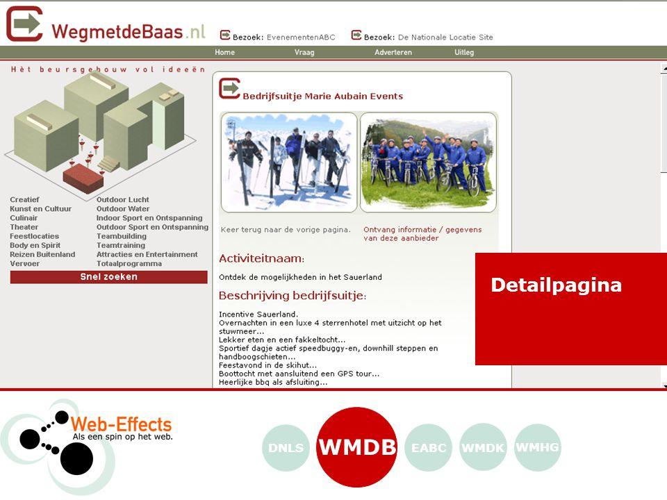 EABC WMDK WMHG WMDB Evenementen google van Nederland! DNLS