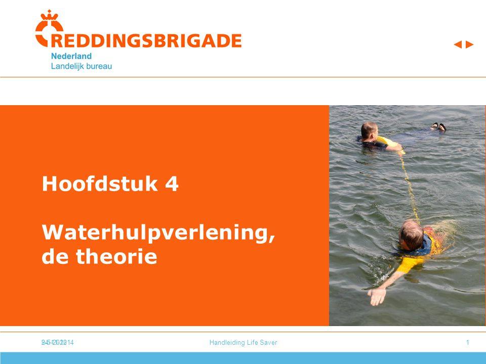 24-11-20149-5-2012Handleiding Life Saver1 Hoofdstuk 4 Waterhulpverlening, de theorie