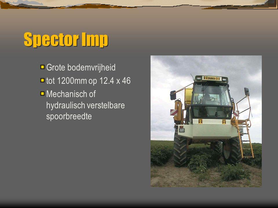 Spector Imp 4000 L  Functioneel ontwerp op basis van bewezen techniek uit het Dubex programma