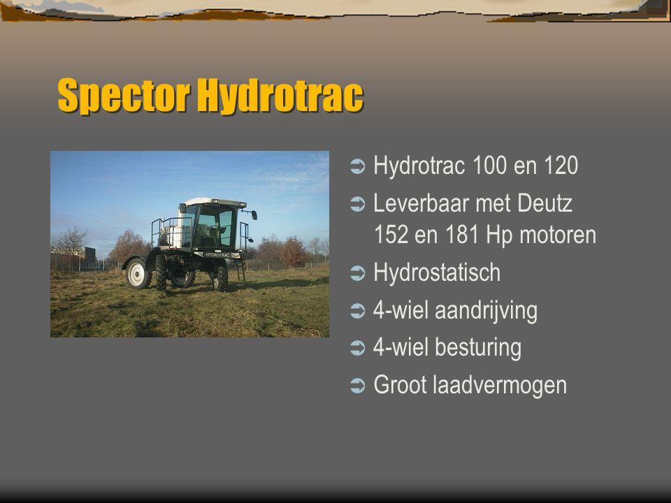 Spector  Dubex Stadskanaal NL  Veldspuiten sinds 1953  Compleet programma van 600 tot 6000 Liter und werkbreedte tot 45m  3-punts, getrokken en ze