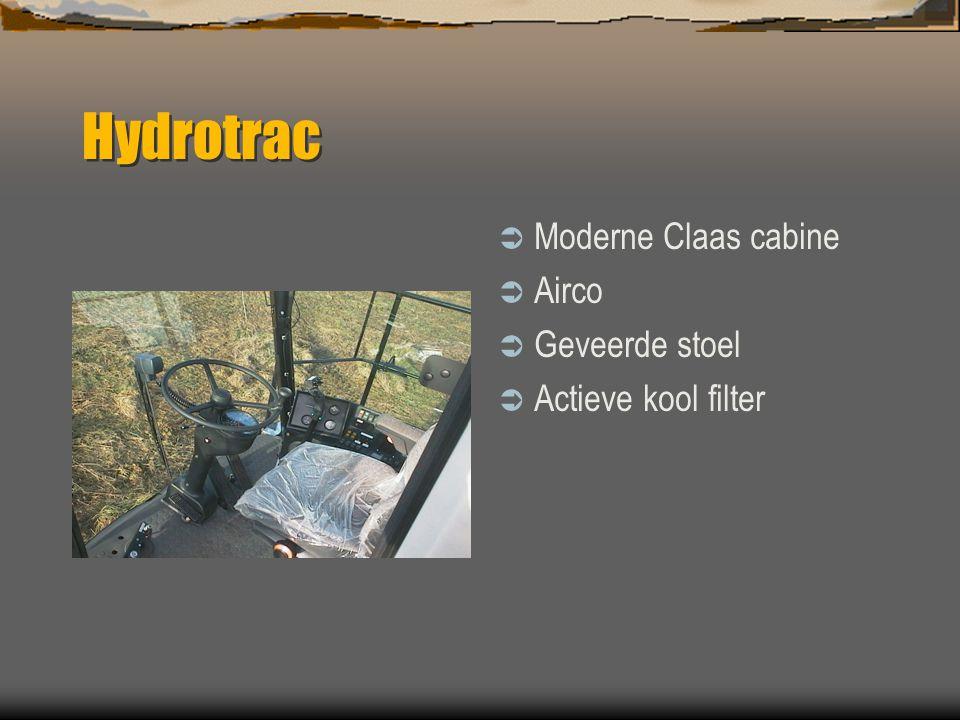Spector Hydrotrac  Hydrotrac 100 en 120  Leverbaar met Deutz 152 en 181 Hp motoren  Hydrostatisch  4-wiel aandrijving  4-wiel besturing  Groot l