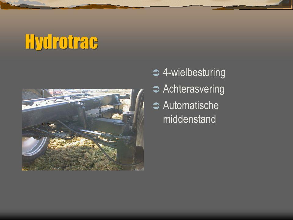 Hydrotrac  Moderne Claas cabine  Airco  Geveerde stoel  Actieve kool filter
