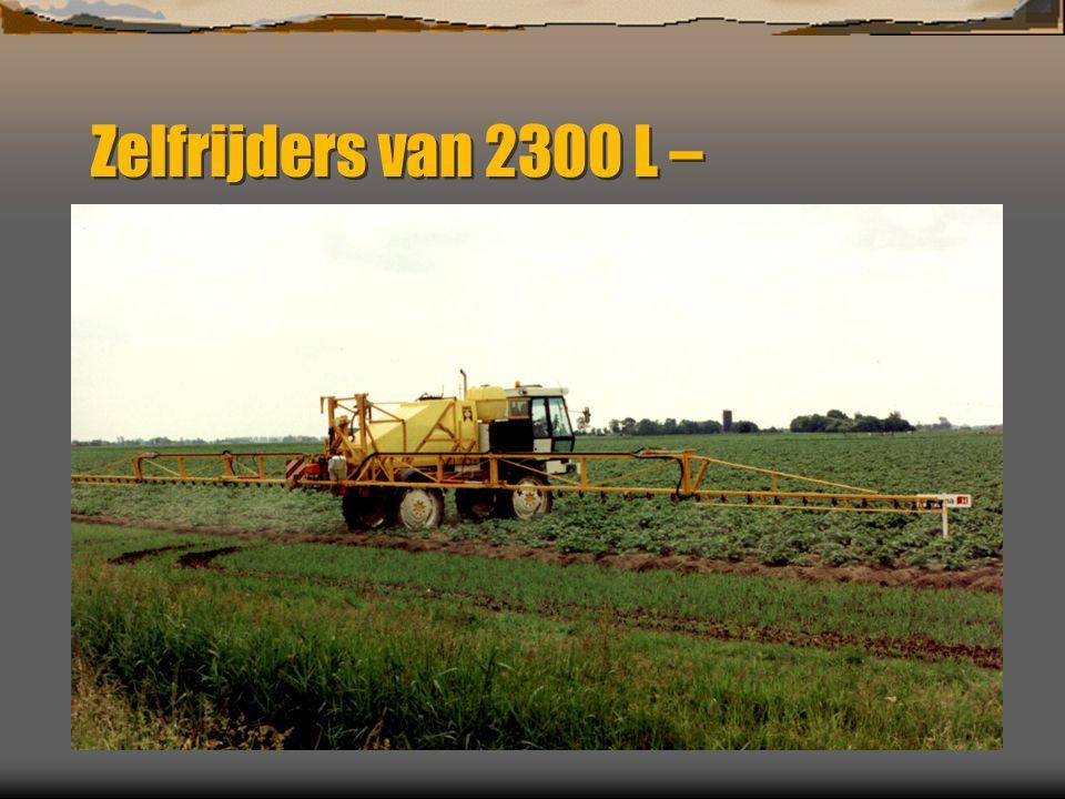 Zelfrijders van 2300 L –