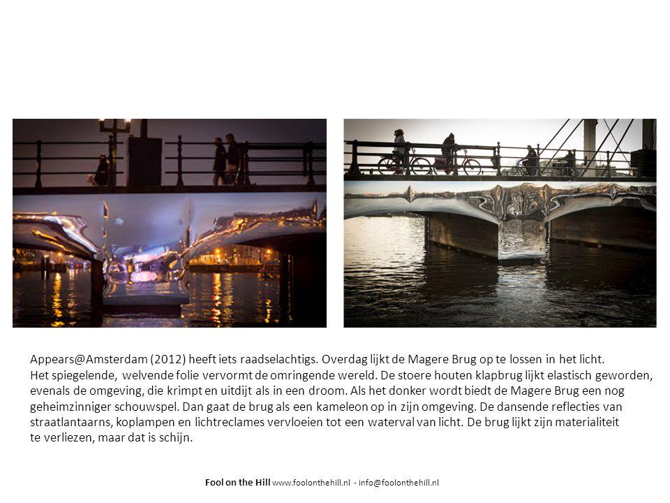 Appears@Amsterdam (2012) heeft iets raadselachtigs.