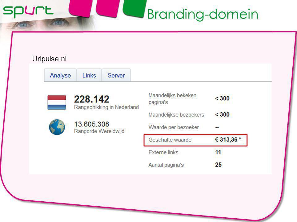 Urlpulse.nl Branding-domein