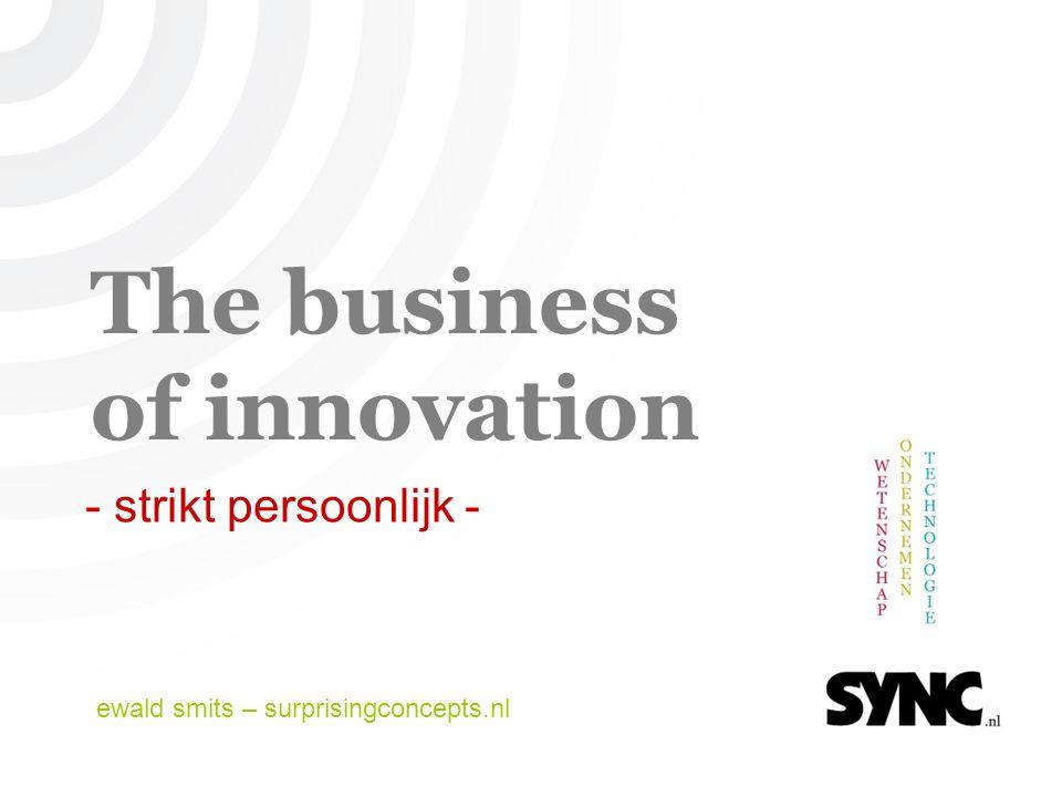© 2007 | ewald smits, surprisingconcept.nl (2) Business & innovatie.