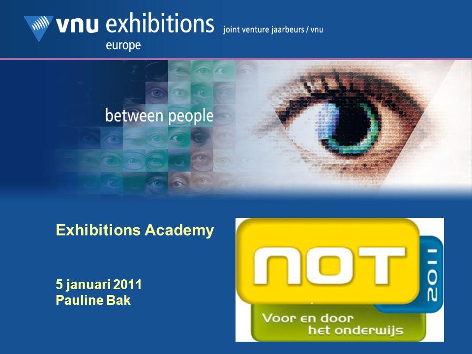 Exhibitions Academy 5 januari 2011 Pauline Bak