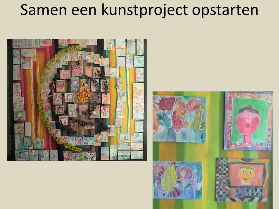 Samen een kunstproject opstarten