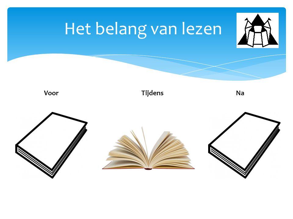 Het belang van lezen VoorNaTijdens