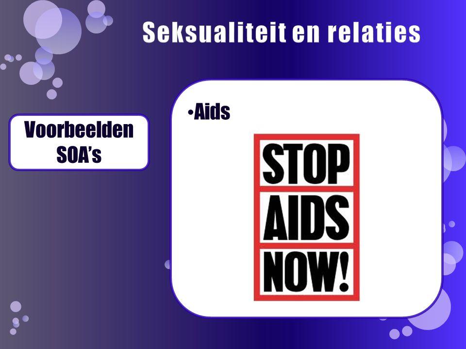 Voorbeelden SOA's Aids