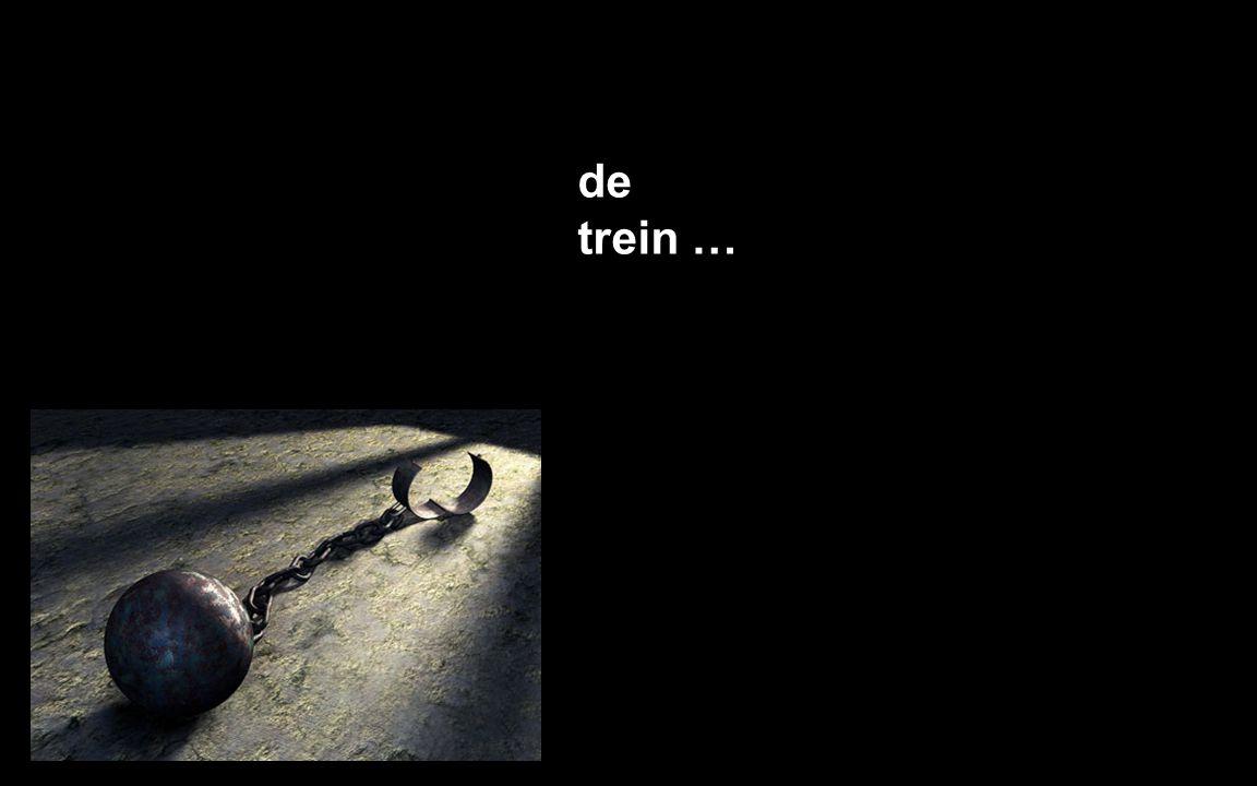 de trein …