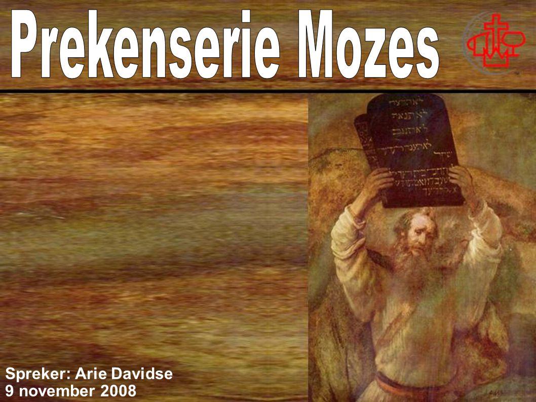 Spreker: Arie Davidse 9 november 2008