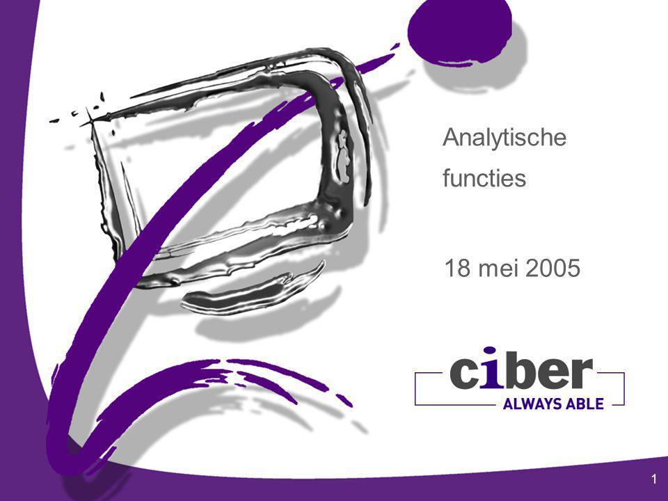 1 Analytische functies 18 mei 2005