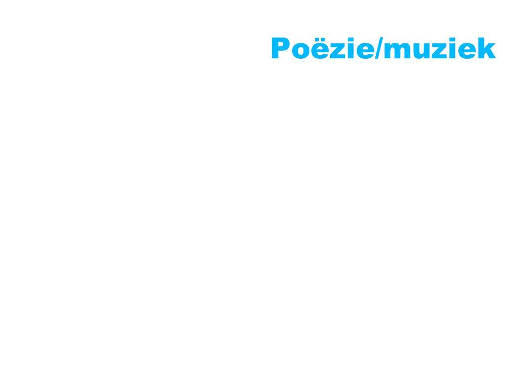 Poëzie/muziek