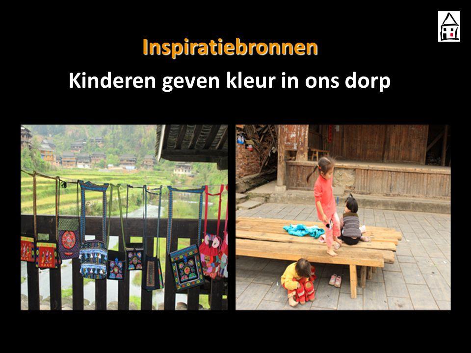 Inspiratiebronnen Kinderen geven kleur in ons dorp