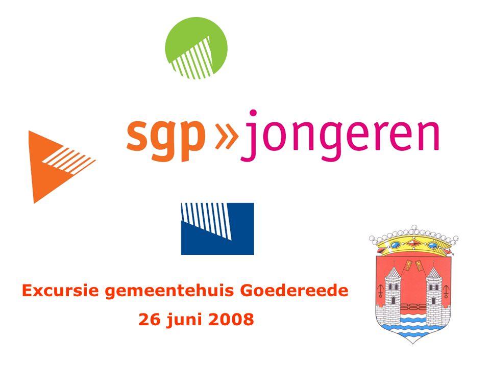 Excursie gemeentehuis Goedereede 26 juni 2008