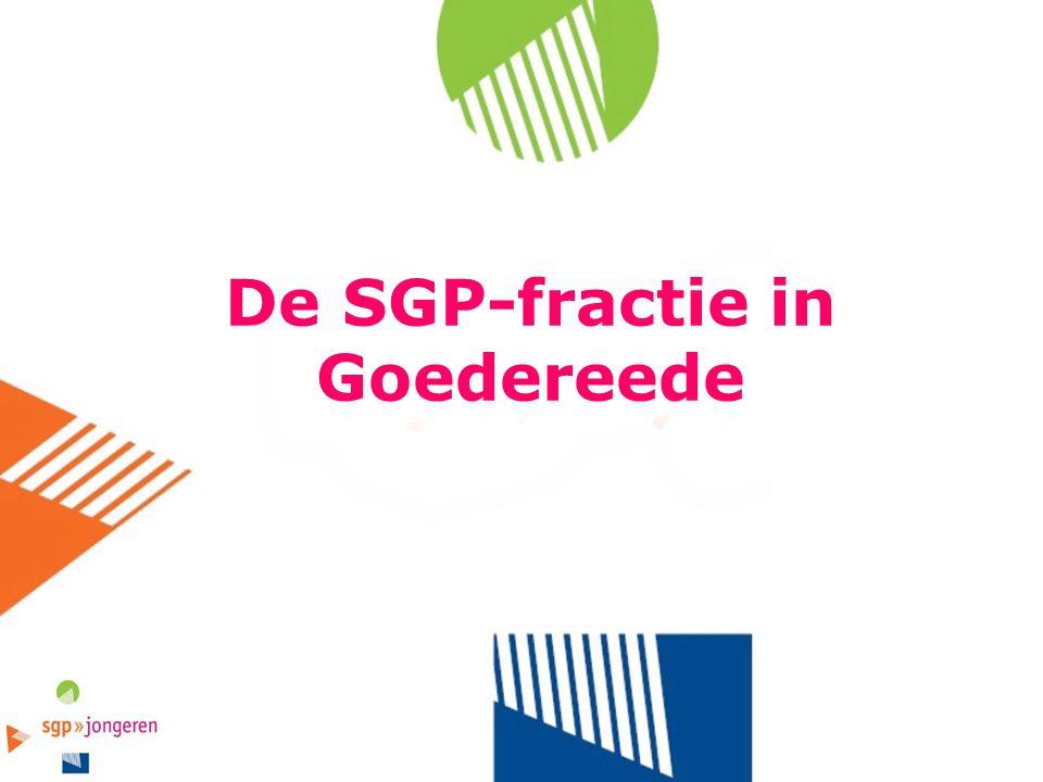 De SGP-fractie in Goedereede