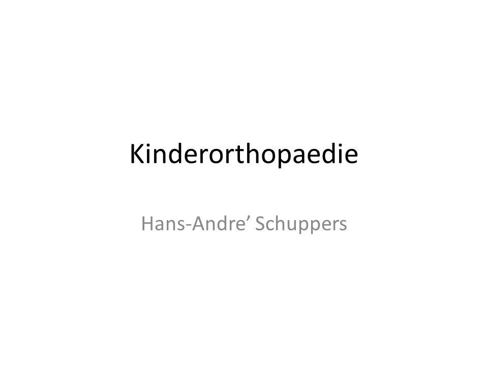 Kinderorthopaedie Hans-Andre' Schuppers