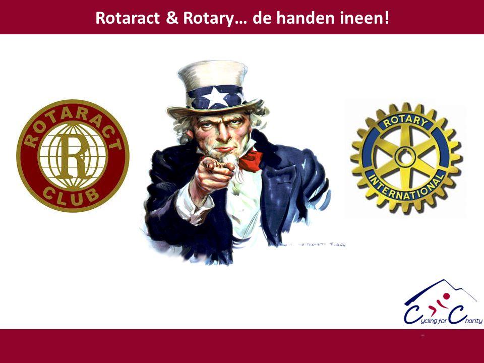 Rotaract & Rotary… de handen ineen!