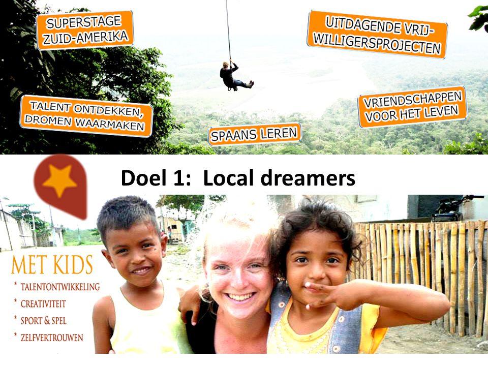 De goede doelen Local Dreamers werkt samen met Ecuadoriaanse organisaties, die we financieel en met vrijwilligers ondersteunen.