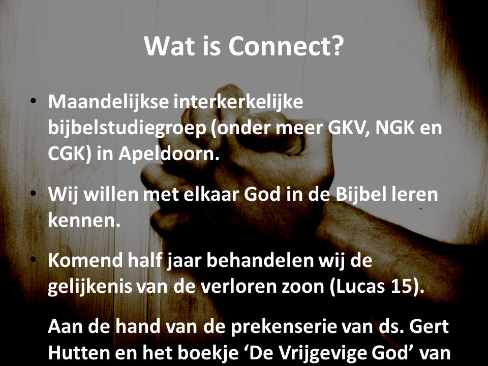 Wat is Connect.